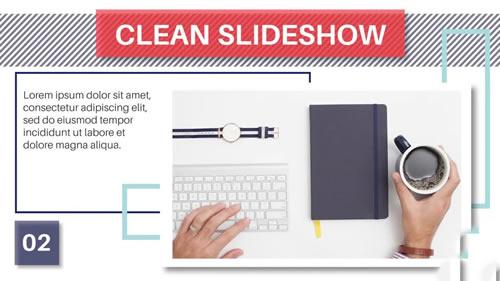 现代商务推广介绍PR相册模板 Modern Corporate Slideshow