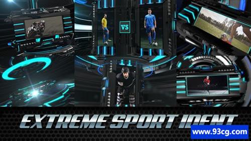AE模板 极限体育科技栏目包装视