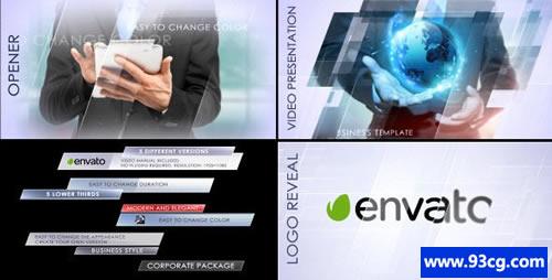 简单企业包AE模板下载 Clean Cor