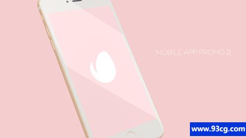 移动应用程序促销app应用下载 AE