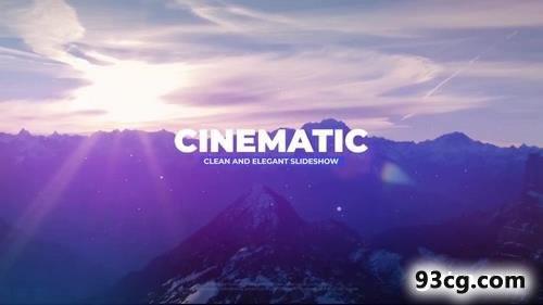 PR模板 电影级电子相册PR模板下载 Cinematic Slideshow
