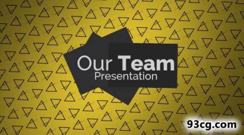 PR模板下载 我们的团队 - 演示文稿 - Premiere Pro模板