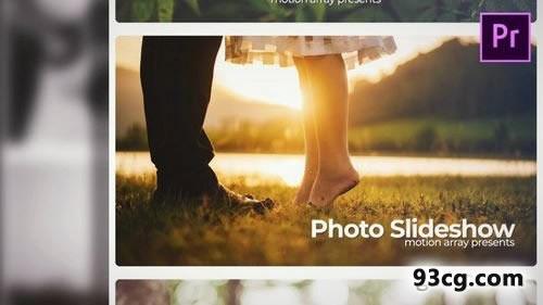 PR模板下载 婚礼婚庆照片幻灯片电子相册Premiere Pro模板