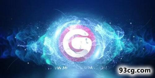 魔幻粒子标志展示视频PR模板下载Magic Particles Logo Reveal