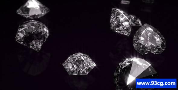 AE模板下载 钻石开场片头视频模板下载   Diamonds Opener
