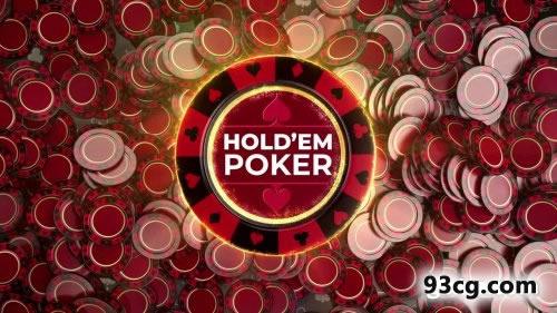 PR模板 赌场筹码视频模板下载 Gambling Casino Logo Reveals