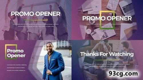 PR模板下载 预告宣传片开场视频片头模板下载 Promo Opener