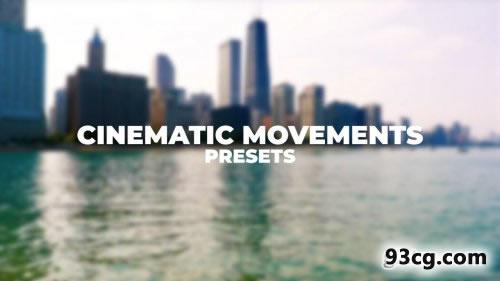PR模板 电影影视级开场预设下载 Cinematic Movements Presets