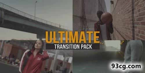 PR模板 一般转场视频片头模板下载 Ultimate Transitions Pack