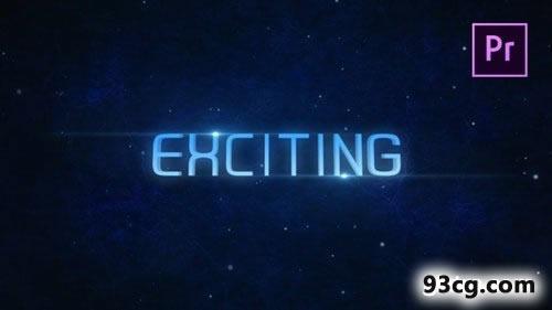 PR模板 未来世界 科技预告宣传片视频片头模板 Teaser Trailer
