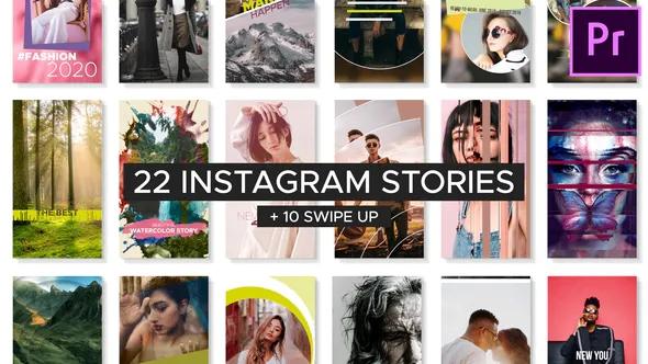 k183PR模板下载 Instagram的最新故事 Fresh Instagram Stories 包装 第1张