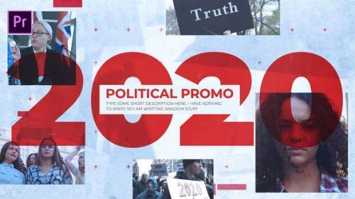 政治促销 Political Promo Premiere模板 第1张