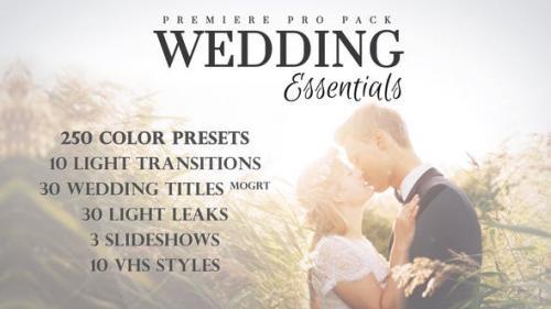 婚礼必备包 视频模板下载 Wedding Essentials Pack Premiere模板 第1张